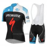 Men's Specialized RBX Comp Cycling Jersey Bib Short 2016 Black Red Blue