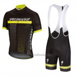 b8a9eb48a Men s Specialized RBX Comp Cycling Jersey Bib Short 2018 Black Yellow