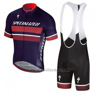 Men's Specialized RBX Comp Cycling Jersey Bib Short 2018 Red Purple