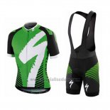 Men's Specialized RBX Comp Cycling Jersey Bib Short 2016 White Green Black