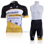 Men's Specialized RBX Comp Cycling Jersey Bib Short 2011 Black White Yellow